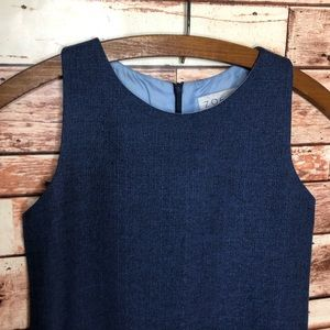 Dresses - Zoë Ltd Blue A-line Vintage Trendy Girls Dress 14